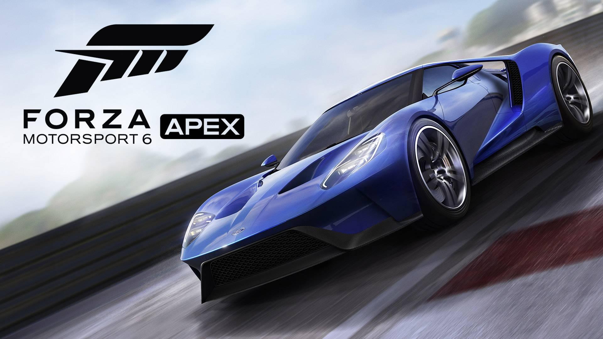 「Forza Motorsport 6: Apex」が配信開始。シリーズ初の基本プレイ無料&Windows 10向けタイトル