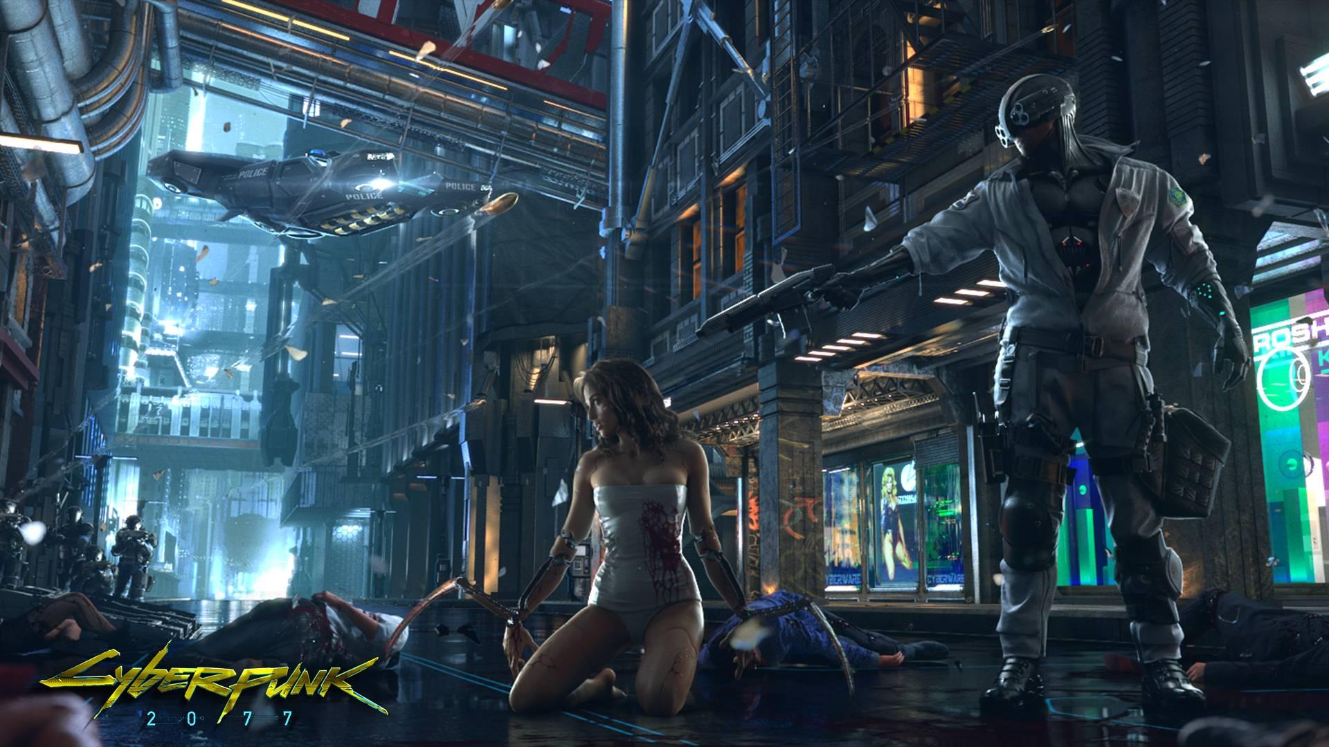 Cyberpunk2077とかいう期待されすぎてて怖いゲーム
