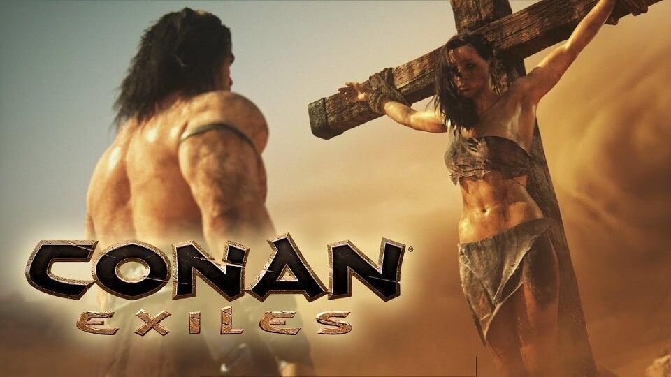 【朗報】最適化されたConan Exilesの神グラすげええええええええ