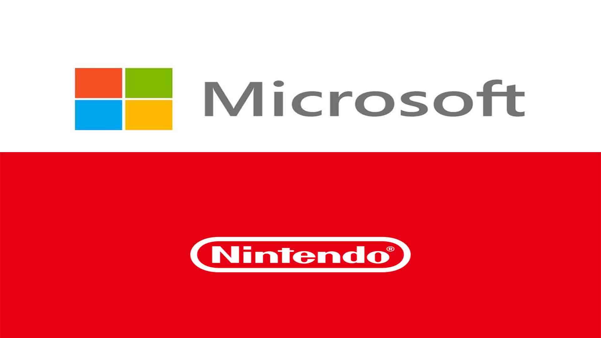 【噂】任天堂とマイクロソフトは共同で巨大なことを取り組んでいる模様