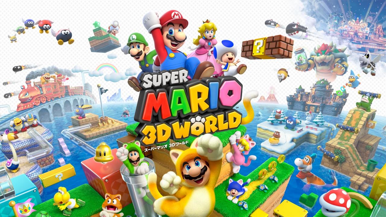 マリオ3Dワールドとかいう3Dマリオ失敗作wwww