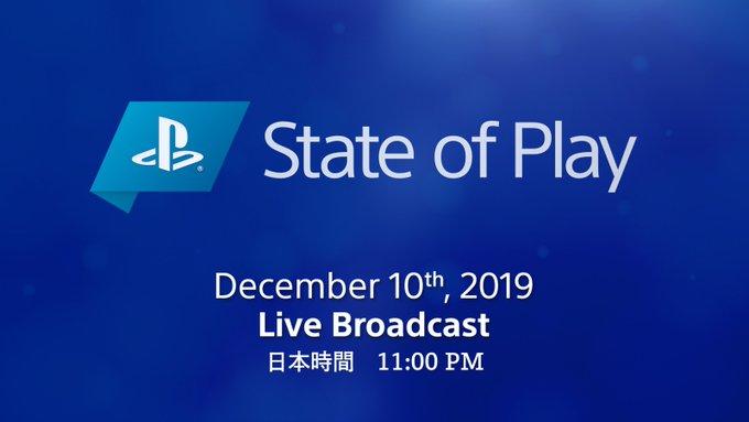 【朗報】ソニーダイレクト『State of Play』第四回目の放送は12月10日23時に決定!!
