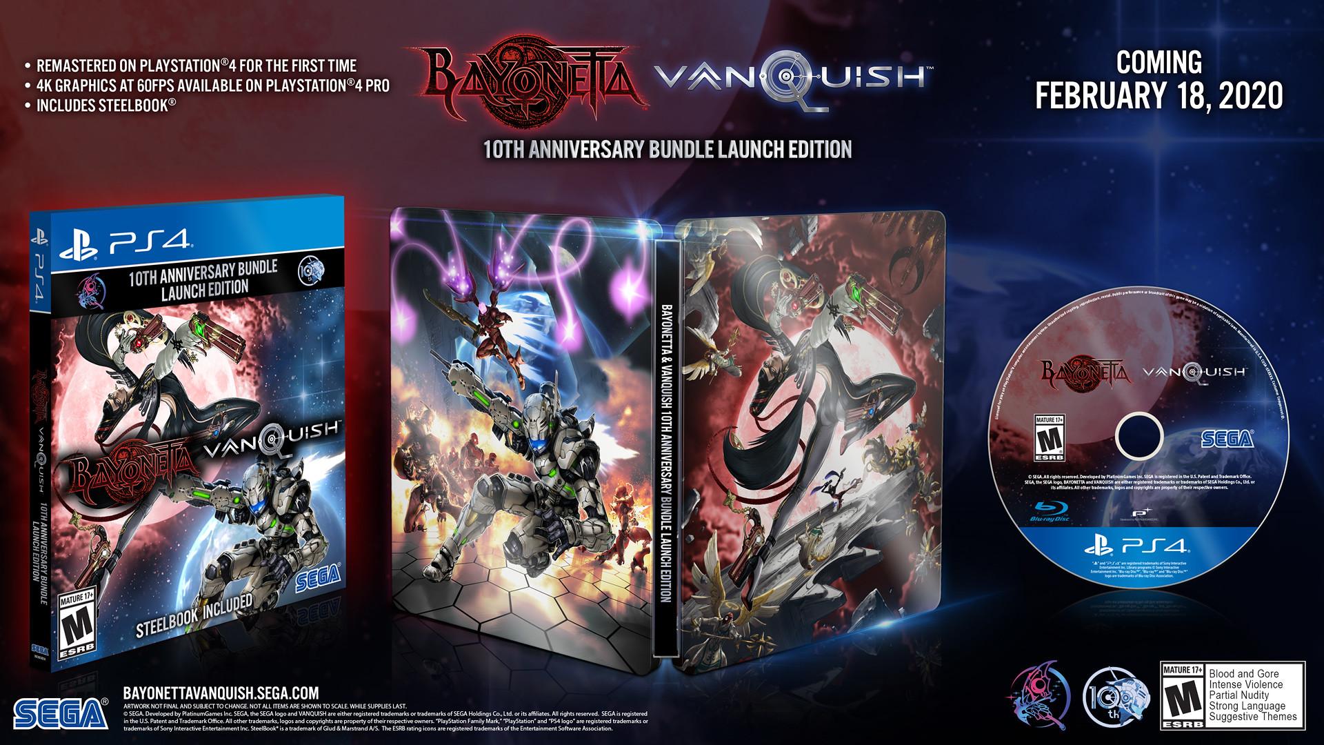 【朗報】ベヨネッタ&ヴァンキッシュ、PS4版のPV到着!