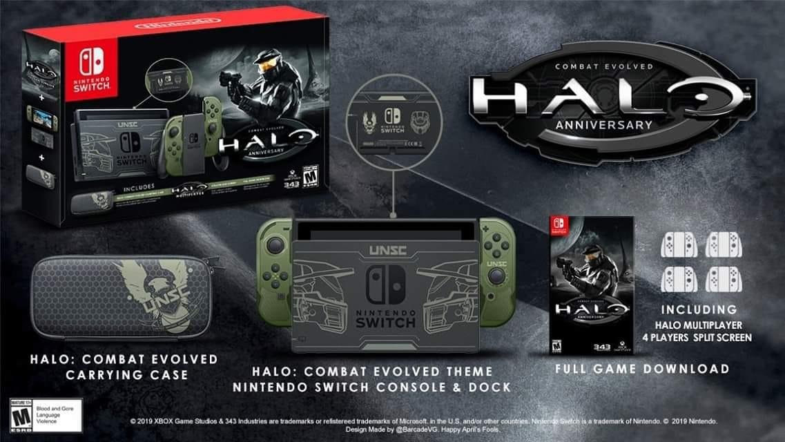 【朗報】Switchに『HALO』が来たー!!
