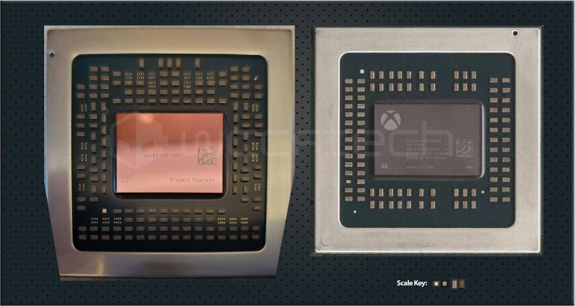 【朗報】XBOXSeriesXのチップ公開、8Kの文字が標準で刻印される