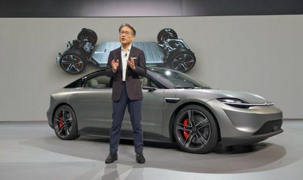 【悲報】ソニー、新型自動運転車を発表!!「ゲーム、モバイルの時代は終わり。これからはモビリティ」