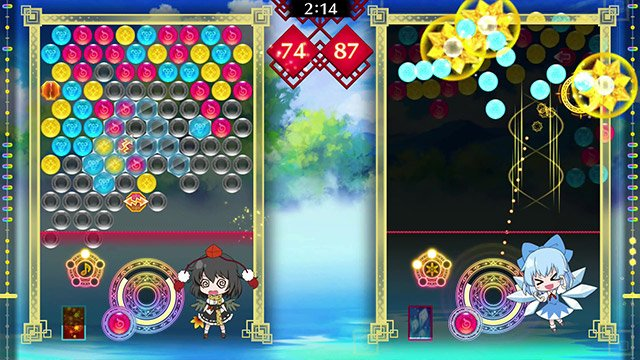 Switch「東方パズルボブル」2020年2月発売決定!タイトー公認
