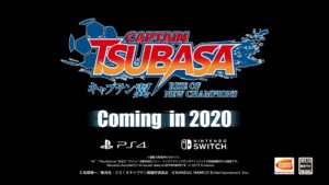 PS4/Switch『キャプテン翼 RISE OF NEW CHAMPIONS』が2020年発表!