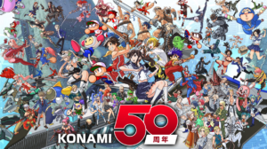 【朗報】コナミの50周年記念イラストが登場!歴代IP大集合!!