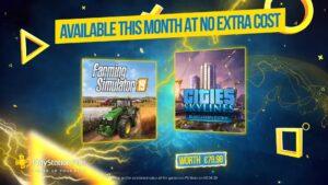 【悲報】PS4の5月のフリプ「Cities Skyline」「Farming Simulator」のクソゲー2点セットに