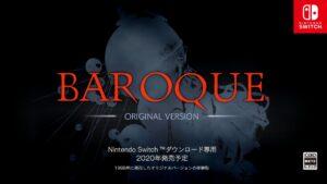 BAROQUE-オリジナルバージョン超完全移植版がSwitchで2020年発売!