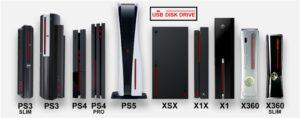 【悲報】PS5がゲーム機史上類を見ないデカさだと世界中で話題に