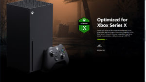 Xbox series Xの公式ページからレイトレーシングの表記が消滅
