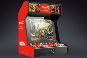 ネオジオのゲームを50タイトル収録した「SNK NEOGEO MVSX」が発表。お値段はたったの5万円w