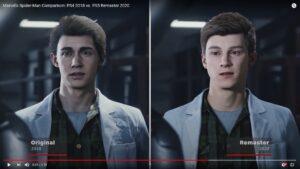 PS5スパイダーマン、主人公ピーターの顔が変わって炎上中