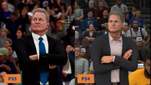 【画像】NBA21のPS5/PS4版の比較が公開!これを見てもPS4に踏みとどまれるの?