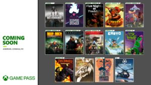 Xboxゲームパスにタイトルが大量追加!