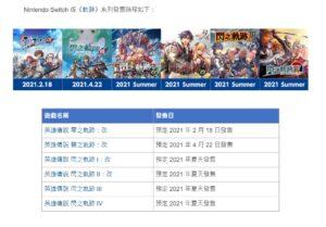 スイッチ版『英雄伝説 閃の軌跡Ⅰ:改』『英雄伝説 閃の軌跡Ⅱ:改』が日本国内で2021年夏発売決定!