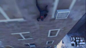 スパイダーマンのグラフィックが突如PS2レベルになる現象が起きる