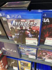 【悲報】スクエニ「アベンジャーズ」、発売3ヶ月で新品999円の投げ売り