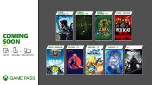 【Xbox Game Pass】2021年5月前半の更新ラインナップがきーたよ!