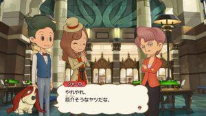 レベルファイブ、TVアニメ版声優ボイスを追加した「レイトン ミステリージャーニー DX +」を発売!