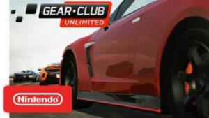 レースゲーム『ギア・クラブ アンリミテッド』、Nintendo Switchで100万本突破!